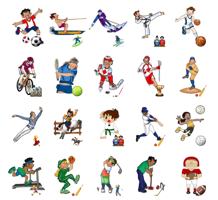Открытка карточка со спортивной тематикой, эмейл надпись для